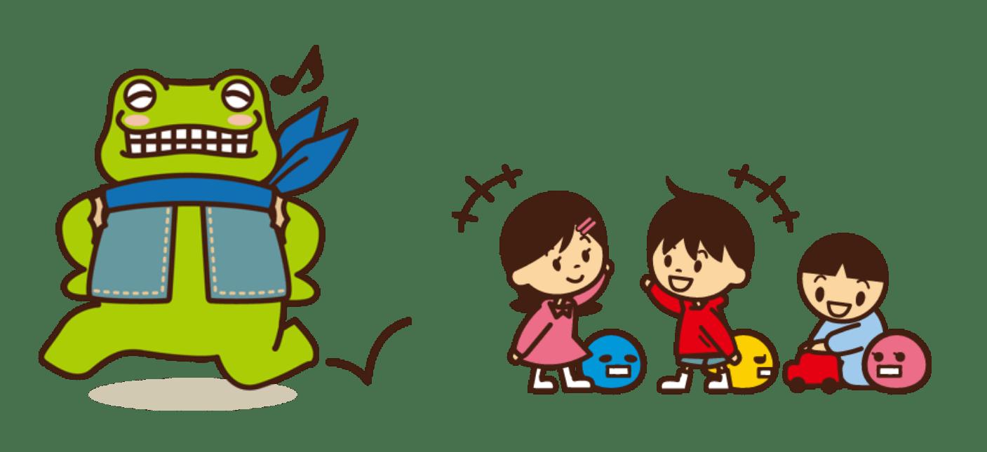 ピカエルと子供たち